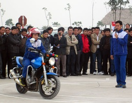 Honda Việt Nam hỗ trợ đào tạo cho các cán bộ Sở GTVT toàn quốc