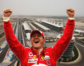 Michael Schumacher được vinh danh tại trường đua Bahrain