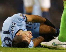 Man City méo mặt với chấn thương của Aguero