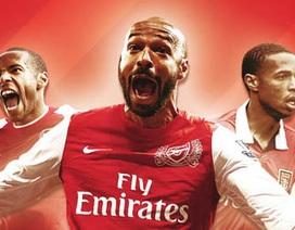 "6 khoảnh khắc ""bất tử"" của Henry với Arsenal"