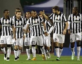 Vidal lập siêu phẩm, Juventus vô địch mùa Đông Serie A