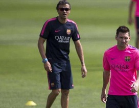 Trụ cột Barcelona tiết lộ xung đột giữa Messi và Luis Enrique