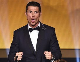 """C.Ronaldo giải thích về """"tiếng hét lạ"""" trên sân khấu"""
