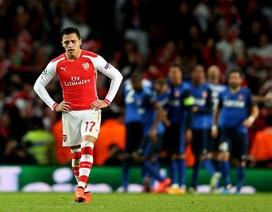 Arsenal thất bại: Cú ngã… quen thuộc