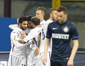 Fiorentina hạ gục Inter Milan ngay tại Meazza