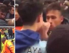 Bị khiêu khích, Neymar đòi đánh nhau với CĐV Man City
