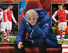 """Arsene Wenger: """"Hàng thủ Arsenal đã tự sát"""""""