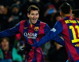 Cuộc đua Chiếc giày vàng: Messi tiến gần tới C.Ronaldo