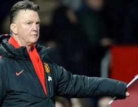 Van Gaal không hài lòng về chiến thắng của MU