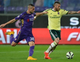 AC Milan bị lội ngược dòng, thua đau phút cuối