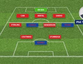 """Đội hình """"siêu khủng"""" kết hợp giữa Liverpool và MU"""