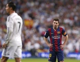 Messi xúi trọng tài đuổi C.Ronaldo