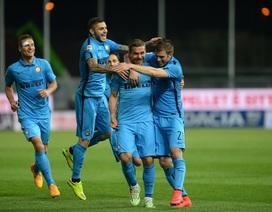 Hạ gục 9 người của Udinese, Inter tiếp đà thăng hoa
