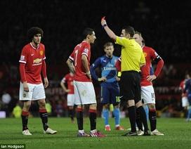 """Scholes: """"Chiếc thẻ đỏ của Di Maria cứu vớt MU"""""""