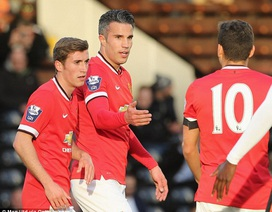 Van Persie tỏa sáng với cú đúp trong màu áo U21 MU