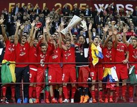 Chùm ảnh: Sevilla vỡ òa trong niềm vui vô địch
