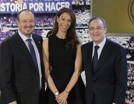 Rafa Benitez bật khóc ngày ra mắt Real Madrid