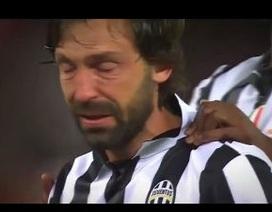 Pirlo rơi lệ sau thất bại ở trận chung kết Champions League