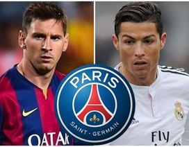 PSG nuôi mộng chiêu mộ Messi, C.Ronaldo