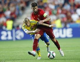 U21 Bồ Đào Nha hụt chức vô địch châu Âu