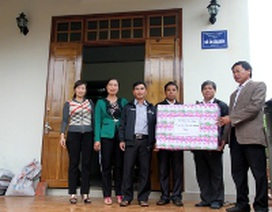 Quảng Trị: Xây nhà cho chuyên viên giáo dục bị suy thận nặng