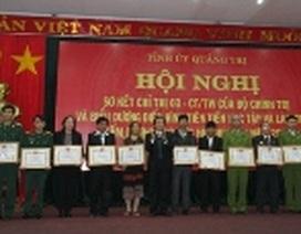 """Quảng Trị: Biểu dương 93 tập thể, cá nhân tiên tiến về """"Học tập và làm theo tấm gương đạo đức Hồ Chí Minh"""""""