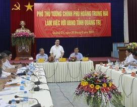 Phó Thủ tướng yêu cầu tỉnh Quảng Trị chủ động ứng phó với hạn hán