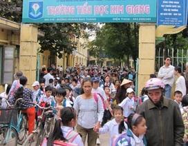 Hà Nội: Lại quay về giờ học cũ sau 1 ngày… đổi giờ