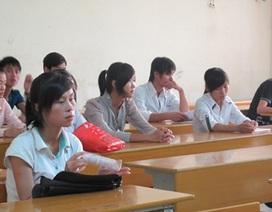 Trường ngoài công lập: Lèo tèo hồ sơ đăng ký dự thi