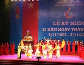 Viện ĐH Mở Hà Nội kỷ niệm 20 năm thành lập