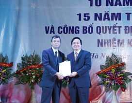 ĐH Quốc gia Hà Nội bổ nhiệm Hiệu trưởng trường ĐH Công nghệ