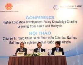"""GS Hàn Quốc, Malaysia chia sẻ cách khắc phục """"điểm yếu"""" trong giáo dục"""