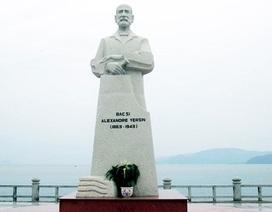 Khánh Hòa thiết kế phù điêu cho tượng đài bác sỹ Alexandre Yersin