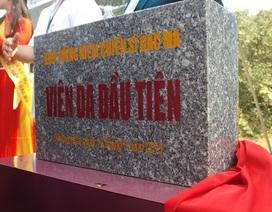 Thiêng liêng ngày đặt viên đá đầu tiên Khu tưởng niệm Chiến sĩ Gạc Ma