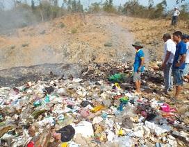 Nhà máy xử lý chất thải chưa hoạt động, dân đã than ô nhiễm