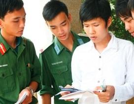 Các trường Quân đội tổ chức sơ tuyển từ ngày 5/3