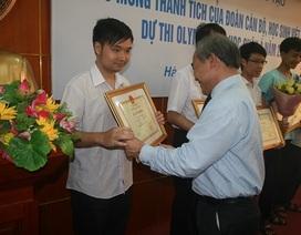 Vinh danh các học sinh đạt giải Olympic Tin học Châu Á