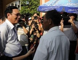 Phụ huynh trực tiếp chia sẻ băn khoăn với Bộ trưởng Bộ Giáo dục