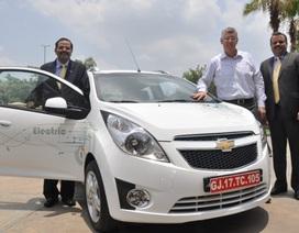GM ra mắt xe Chevrolet Beat chạy điện