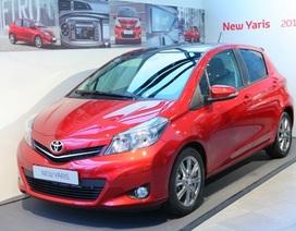 Toyota báo giá xe Yaris 2012