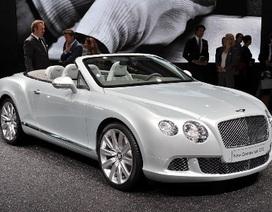 Bentley Continental GTC thổi luồng gió mới