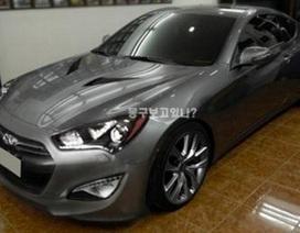 Hé lộ hình ảnh xe Hyundai Genesis Coupe 2013
