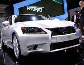 Lexus ra mắt xe GS 450h hybrid
