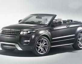 Lộ diện xe Range Rover Evoque phiên bản mui trần