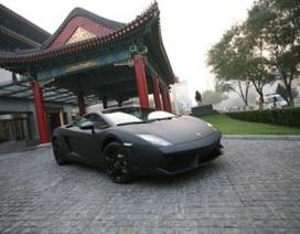 Trung Quốc sẽ giảm tiêu thụ siêu xe?