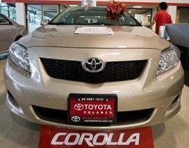 Toyota triệu hồi gần 1,3 triệu xe trên toàn thế giới