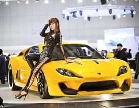 Nhan sắc yêu kiều tại Triển lãm ôtô Seoul 2013