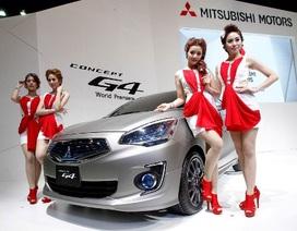 Người đẹp và xe tại Triển lãm ôtô Bangkok 2013