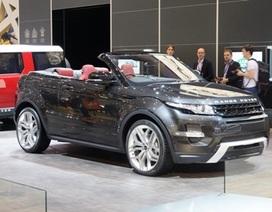 Sẽ không có xe Range Rover Evoque phiên bản mui trần