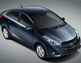 Lộ diện xe Hyundai i20 phiên bản sedan